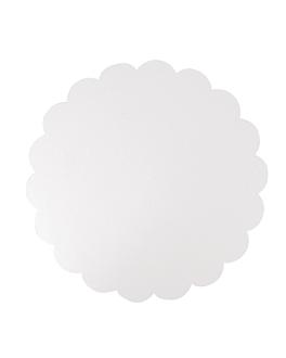 discos planos pastelerÍa 350 g/m2 Ø 35 cm blanco cartÓn (250 unid.)