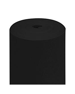 """tÚ y yo"" pre 120cm (20 ser.) 55 g/m2 0,40x24 m negro airlaid (6 unid.)"