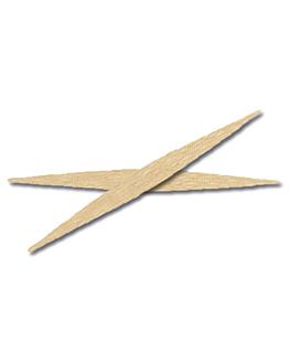cure-dents plats 6,5 cm naturel bois (2800 unitÉ)