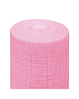 """tÊte À tÊte"" pre. 120cm (20 ser.) 'dry cotton' 55 gsm 0,40x24 m fuchsia airlaid (6 unit)"