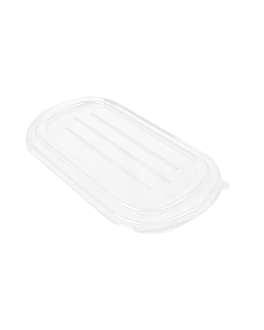 tapas lunch box 320.52/53 'bionic' 850 ml 23,6x13,5x1,3 cm transparente pet (500 unid.)