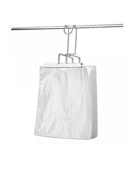 100 u. multiple purposes bags 14µ 40x50+3 cm clear pehd (1 unit)