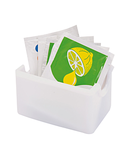 multi purpose containers 8,5x6,5x5 cm white ps (1 unit)