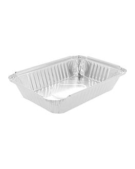 recipientes rectangulares 900 ml 21,7x11x5,4 cm aluminio (100 unid.)