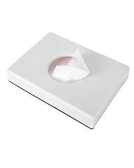 dispenser for sanitary bags 13,5x10x2,6 cm white abs (1 unit)