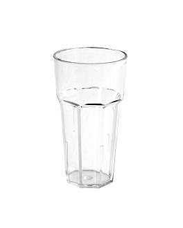 stackable cups 600 ml Ø 8,8x16 cm clear polycarbonate (12 unit)