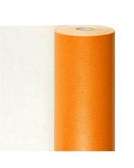 papier cadeaux couleur unie 60 g/m2 0,7x100 m orange cellulose (1 unitÉ)