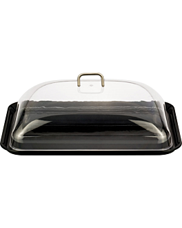 dome cover 33,5x47x14 cm clear polycarbonate (1 unit)