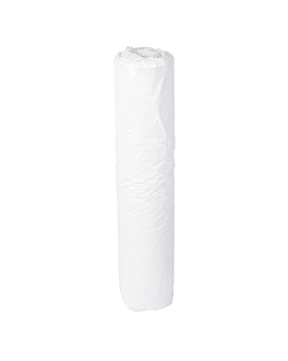 100 u. aprons in roll 20µ 69x107 cm white peld (1 unit)