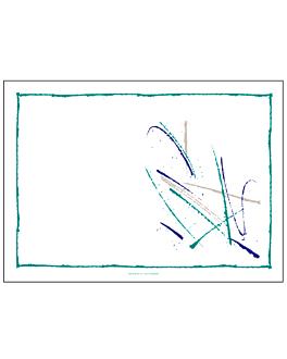 sets de table 'volare' 48 g/m2 31x43 cm blanc cellulose (2000 unitÉ)