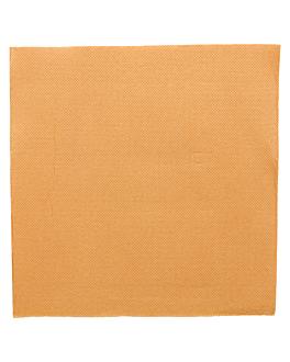 serviettes ecolabel 'double point' 18 g/m2 39x39 cm caramel ouate (1200 unitÉ)