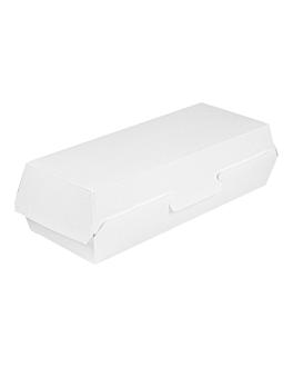 """panini"" boxes 'thepack' 230 gsm 26,5x12,2x7 cm white nano-micro corrugated cardboard (300 unit)"