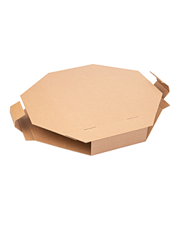 paella box 375 gsm 41x41x5,2 cm natural cardboard (100 unit)