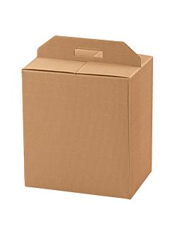 30 u. cajas botellas/otros 33x25x35 cm natural kraft (1 unid.)