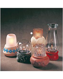 """globe n.4 """"mezcle & combine"""" Ø 8x9,5 cm clear glass (1 unit)"""