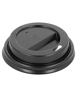 high lids for 180 ml cups  black ps (1000 unit)