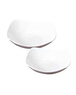 bols 1 l Ø 23,5x6,7 cm blanc porcelaine (2 unitÉ)