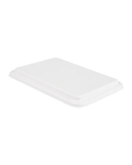 lids for item 194.27 'bionic' white bagasse (400 unit)