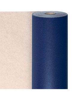 papel regalo 100 m. 60 g 70 cm azul kraft verjurado (1 unid.)