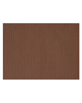 table mats 48 gsm 31x43 cm chocolate cellulose (2000 unit)