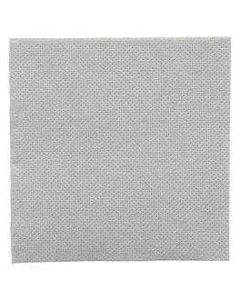 serviettes ecolabel 'double point' 18 g/m2 20x20 cm gris ouate (2400 unitÉ)