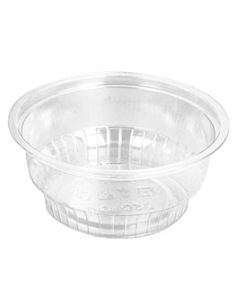 pots À glace 150 ml Ø9,5x3,8 cm transparent pet (1000 unitÉ)