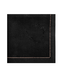napkins f. 1/4 'cool-cotton' 140 gsm 21x21 cm black cotton (150 unit)
