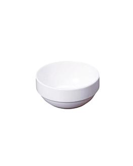 bols saladiers 70 ml Ø 6,4x2,8 cm blanc porcelaine (12 unitÉ)