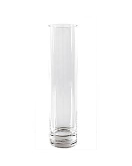 giant decoration - cylinder Ø 10x60 cm clear glass (1 unit)