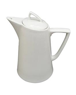 pots À lait 18x13x20,5 cm blanc porcelaine (2 unitÉ)