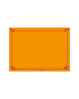 mantelines 48 g/m2 31x43 cm clementina celulosa (2000 unid.)