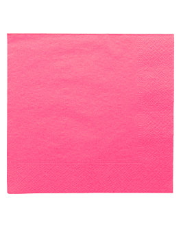 napkins ecolabel 2 ply 18 gsm 39x39 cm fuchsia tissue (1600 unit)
