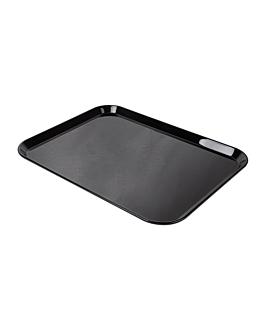 bandeja para cÚpula 38x51 cm negro policarbonato (1 unid.)