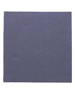 ecolabel napkins 'double point' 18 gsm 33x33 cm navy blue tissue (1200 unit)