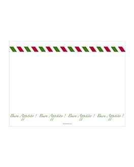 """nappes """"italien"""" 55 g/m2 30x40 cm blanc dry tissue (800 unitÉ)"""