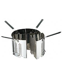 colapasta in settori 22x16x19 cm argento acciaio inox (1 unitÀ)