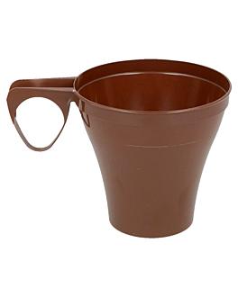 kaffeetassen 'espresso' 80 ml Ø5,8/3x5,7 cm braun ps (1200 einheit)
