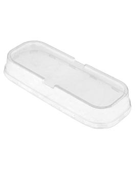 tapas altas para recipientes 206.28/29/30  transparente pet (100 unid.)