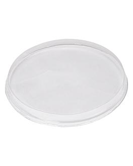 tapas altas para recipientes 214.74/87  transparente pet (50 unid.)