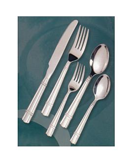 """fourchettes de table """"linea 3025"""" 19,3 cm/ 3,5 mm metal inox 18% (12 unitÉ)"""