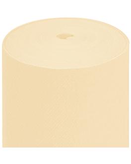 tablecloths pre-cut - 75 segments 55 gsm 80x80 cm ivory airlaid (4 unit)