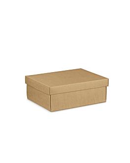 30 u. cajas rectangulares 24x20x9,5 cm natural kraft (1 unid.)