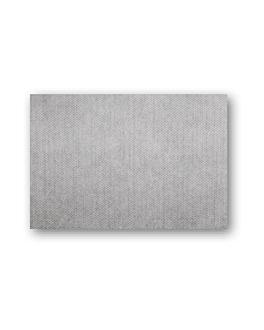 mantelines 'dry cotton' 55 g/m2 30x40 cm grafito airlaid (800 unid.)