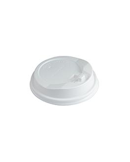coperchi cupola per biccheri 360 ml  bianco ps (1000 unitÀ)
