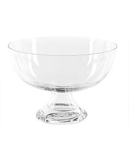 coupe dÉcoration Ø 24,6x17 cm transparent verre (1 unitÉ)