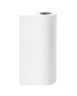 cubrecamillas 'spunbond' 25 g/m2 0,60x100 m blanco pp (6 unid.)