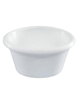 recipientes 60 ml Ø 7 cm branco melamina (144 unidade)