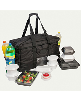 delivery bag catering 53,3x35,5x33 cm black (1 unit)