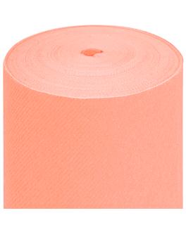 tablecloth precut - 60 segments 60 gsm 120x120 cm peach airlaid (4 unit)