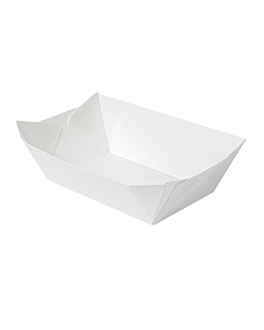 containers 'thepack' 480 g 230 gsm 10x6,2x4,8 cm white nano-micro corrugated cardboard (1800 unit)